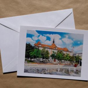 Grande carte au pastel sec - La Tour-de-Peilz - Le Collège des Marronniers
