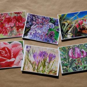 Cartes collection fleurs 2