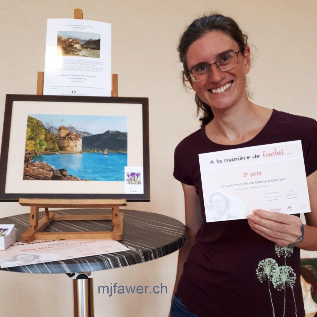 11e journées des peintres à la manière de courbet 3ème prix