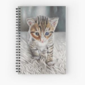 Carnet chat Redbubble