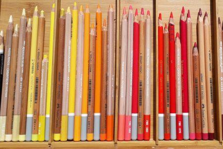 Crayons Pastel, Stabilo Carbothello, Pastel Pencil de Caran d'Ache, Pitt Pastel de Faber Castel